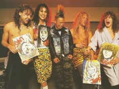 James Hetfield, Jason Newsted, and metallica Bild