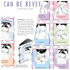 Lesson 38: I can be Reverent august 2008 Friend lds.org cute little rhyme book on reverence