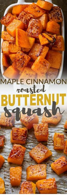 Best No Cost Maple Cinnamon Roasted Butternut Squash makes an easy, healthy & delicious side . Thoughts Maple Cinnamon Roasted Butternut Squash makes an easy, healthy & delicious side dish perfect for Th Best Thanksgiving Recipes, Thanksgiving Cakes, Easy Thanksgiving Sides, Vegetables For Thanksgiving, Traditional Thanksgiving Food, Easy Thanksgiving Appetizers, Healthy Christmas Recipes, Easy Holiday Recipes, Roasted Butternut Squash