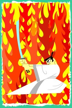 Samurai Jack (poster) available on @cupick