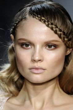 Braided hairstyles: inspiration from the runway and celebrities gallery - Vogue Australia