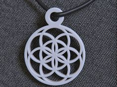 Seed Of Life Pendant by on Shapeways. Learn more before you buy, or discover other cool products in Pendants and Necklaces. Days Of Creation, Seed Of Life, In Ancient Times, Flower Of Life, 3d Projects, Swirls, Art Decor, 3d Printing, Seeds