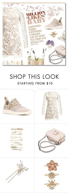 """Sweety babe"" by ekaterina-uglyanitsa ❤ liked on Polyvore featuring Giuseppe Zanotti, self-portrait, Red Camel, Hard Graft, Wedding Belles New York, Chiara Ferragni, Accessorize and dreamydresses"