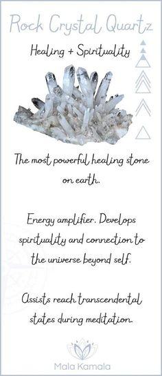Rock crystal quartz