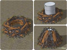 How to Make Charcoal in a metal drum: 16 Steps (with Pictures) - wikiHow