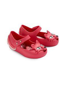 Mini Melissa - Infant's, Toddler's & Little Girl's Mini Melissa Ultragirl Fox Mary Jane Flats - Saks.com
