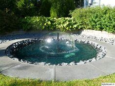 puutarha,suihkulähde