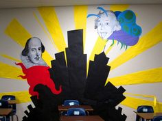 Science vs. the Arts: Mothra Einstein and Octo-Shakesphere, who will win?