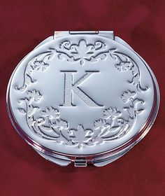 Monogram Compact Mirrors|ABC Distributing Kristie