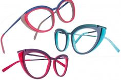 Colour Pop by Caroline Abram: great colorful frame line!