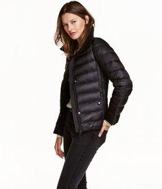Down Jacket   Black   Ladies   H&M US