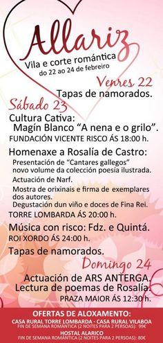 Allariz, vila e corte romántica @ Allariz (Ourense) turismo cultura