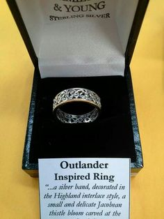 Outlander Wedding Ring On Right Hand