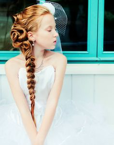Teen Party Hair Style  Sonetbing to try with my girls when they get to this age.