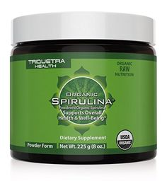 Organic Spirulina Powder Guaranteed Purest Source of Organic Spirulina in the World 4 Organic Certifications Certified Organic by USDA Ecocert Naturland  OCIA Only USP Verified Source of Spirulina Powder Maximum Nutrient Density  Bioavailability *** Read more  at the image link.