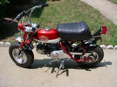 Honda 50 mini trail. We had one of these