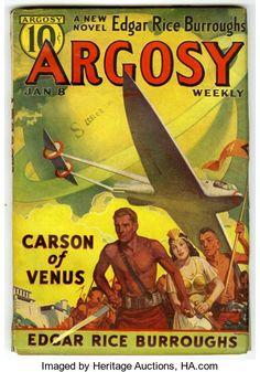 "Pulps:Miscellaneous, Argosy/Fantastic Adventures ""Venus"" Group (Various, 1932-42)Condition: Average GD/VG.... (Total: 13 Comic Books)"