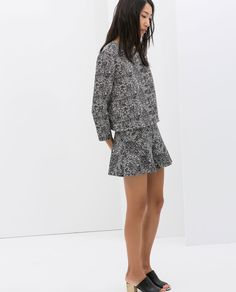 Image 1 of PRINTED MERMAID SKIRT from Zara