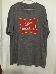32e5ae7a Details about Miller High Life Sz 2XL Shirt. Miller High LifeCool ShirtsGraphic  TeesGraphic T Shirts