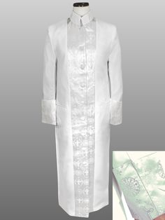 Suit Avenue has the finest white clergy robe for women with brocade. Office Outfits Women, Summer Outfits Women, Summer Fashions, Woman Outfits, Dresses For Teens, Club Dresses, Midi Dresses, Lace Dress Styles, Night Club Outfits