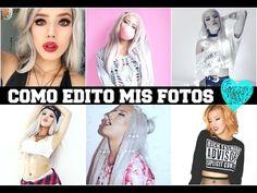 Como edito mis fotos /How to edit photos - YouTube