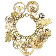 Elizabeth Taylor gold charm bracelet sold for $137,000