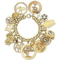Elizabeth Taylor gold charm bracelet sold for $137,000