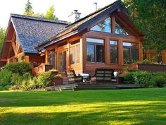 Wildest, Most Expensive 'Cottages' For Sale In Canada Rest House, House In The Woods, Dream Home Design, Modern House Design, Plan Chalet, Casas Containers, Log Cabin Homes, Dream House Exterior, Cabins And Cottages