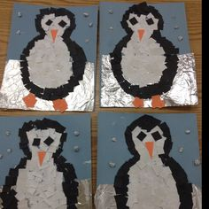 If you are search for december crafts for kids art projects you've come to the right place. We have 34 images about december crafts fo. Winter Art Projects, School Art Projects, Kindergarten Art, Preschool Crafts, Art For Kids, Crafts For Kids, First Grade Art, Snow Activities, Penguin Craft