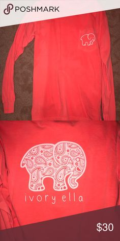 NWOT Ivory Ella Shirt!! Never worn, was sent the wrong size!! Ivory Ella Tops Tees - Long Sleeve