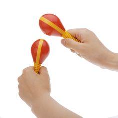 Plastic Egg Maraca Musical Early Educational Rhythm Toy Tool for Baby Kid Child