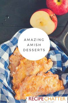 Looking for some old fashioned recipes? Take a look at these Amish dessert recip… Looking for some old fashioned recipes? Take a look at these Amish dessert recipes! Amish bread, pies, and cakes, oh my! Brownie Desserts, Oreo Dessert, Mini Desserts, Coconut Dessert, Apple Desserts, Apple Recipes, Fried Apple Pies, Fried Pies, Amish Recipes