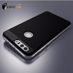 Huawei Honor 8 Case TPU De Silicium Hybride + PC Double Couche cadre de Couverture Arrière De Protection Case Pour Huawei Honor 8 Mobile Téléphone