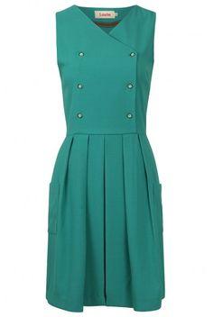 Louche Gwenna Pinafore Dress