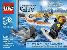 LEGO City Surfer Rescue 60011 - Discount Toys USA
