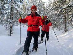 tolles Langlauf und Schneeschuh-Gebiet in Ylläs Finnisch lappland