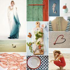 Mediterranean inspiration palette - I love all things Mediterranean