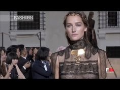 VALENTINO Mirabilia Romae Haute Couture Fall 2015 Full Show by Fashion C...