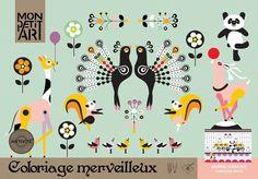 Color #book dancing #animal by Mon petit art from www.kidsdinge.com https://www.facebook.com/pages/kidsdingecom-Origineel-speelgoed-hebbedingen-voor-hippe-kids/160122710686387?sk=wall