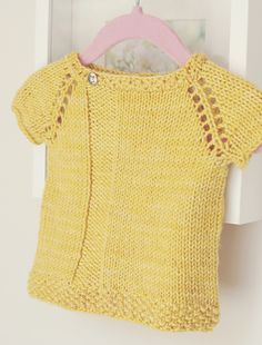 Ravelry: Top Down Sugar Top pattern by Eba Design