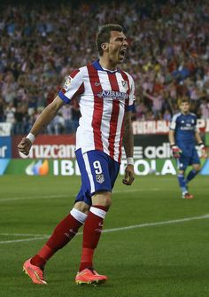 Mario #Mandzukic of #Atletico Madrid