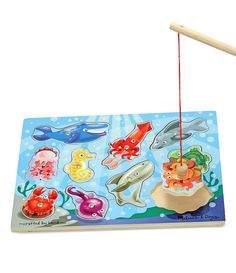 Melissa and Doug Toy, Fishing Magnetic Puzzle Game - Kids - Macy's Puzzles For Toddlers, Games For Kids, Online Puzzle Games, Magnetic Toys, Melissa & Doug, Wooden Puzzles, Wooden Toys, Colorful Pictures, Educational Toys