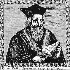 Edward Kelly. Alchemist at the court of Emperor Rudolf II. von Habsburg.