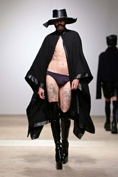Male Fashion Trends: Kim Gush Fall-Winter 2017 - South Africa Menswear Week