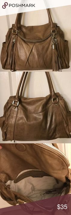 Coming Soon - Botkier Jackie satchel brown leathe Good used condition! No stains except few smudges on the back, probably jeans transfer! Never tried to clean it, hard to see, distressed leather of the purse kind blends with it! No damage! No dustbag! This model has no Crossbody strap. The purse is so soft, has plents of spaces and pockets, a must have! Price is firm for this purse!!! Cheaper on pay-p@l Botkier Bags Satchels