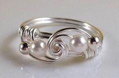 44 Gorgeous Handmade Wire Wrapped Jewelry Idea | DIY to Make #wireringsdesigns #wireringsideas  #JewelryTips #jewelrymaking