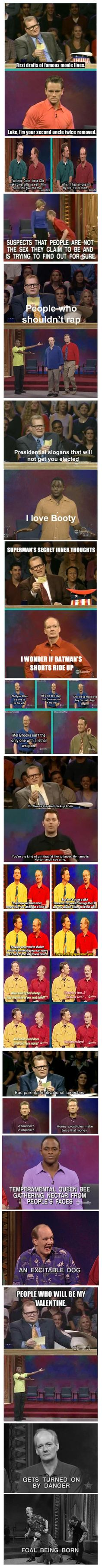Some of the Best Moments from Whose Line Is It Anyway | I Think My Moms Gone CrazyI Think My Moms Gone Crazy
