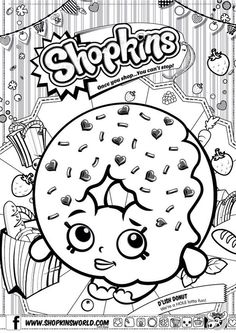Shopkin Coloring Pages Free Online Printable Sheets For Kids Get The Latest Images Favorite To