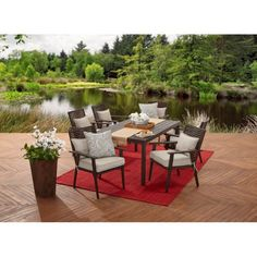 21 best outdoor dining table 9 pc images dining tables kitchen rh pinterest com