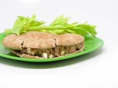 Tuna Pitas from 400 Calories or Less. Click through for recipe.